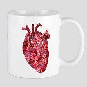 Grey's Anatomy Heart 11 oz Ceramic Mug