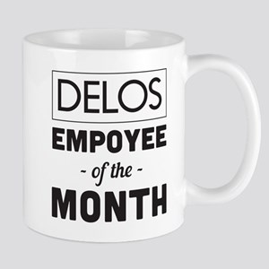 DELOS Employee of the Month Mugs