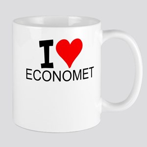 I Love Econometrics Mugs