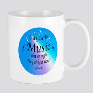 God Gave Us Music Mug