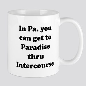 Paradise thru Intercourse Mug