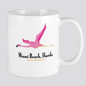 Miami Beach Flamingo - Mug