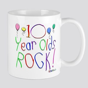 10 Year Olds Rock ! Mug