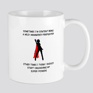 Superheroine Firefighter Mug