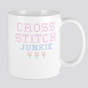 Cross Stitch Junkie Stainless Steel Travel Mugs