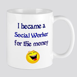 Laughing Social Worker Mug