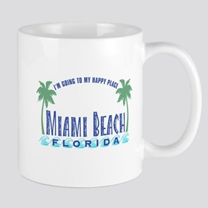 Miami Beach Happy Place - Mug