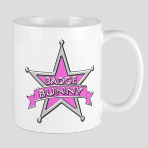 Badge Bunny Mug