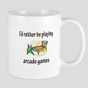 Playing Arcade Games Mug