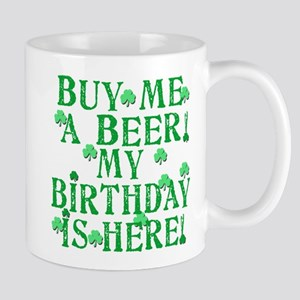 Buy Me a Beer Irish Birthday Mug