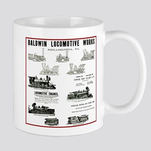 The Baldwin Locomotive Works Mug