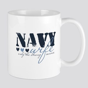 Navy Wife ... [blue] Mug