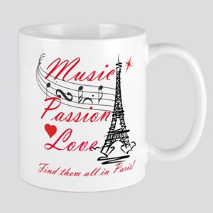 Paris-Music Mug
