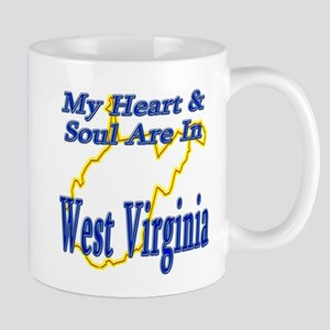 Heart & Soul - West Virginia Mug