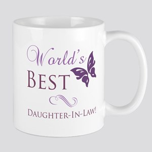 World's Best Daughter-In-Law Mug