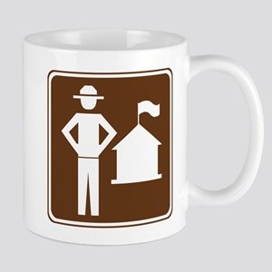 Ranger Station Sign Mug
