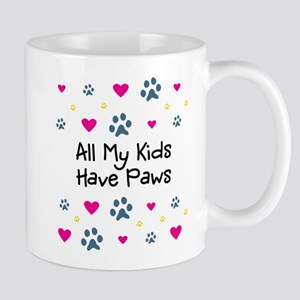 All My Kids/Children Have Paws Mug