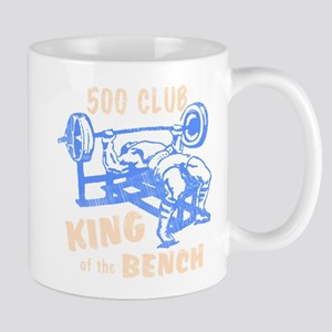 500 Club Bench Press Mug