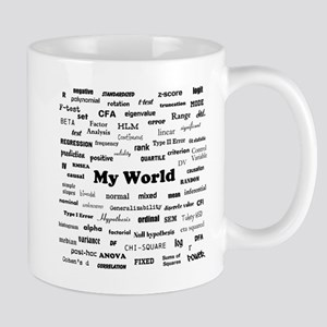 Stats are My World Mug