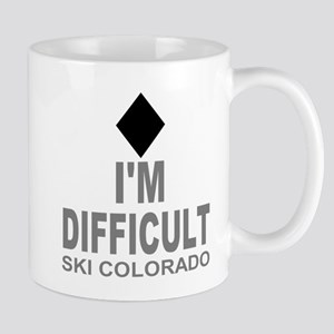 I'm Difficult Ski Colorado Mug