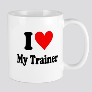 I Love My Trainer: Mug