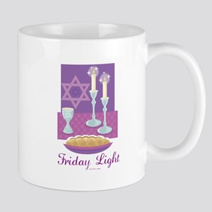 Friday Light Jewish Mug
