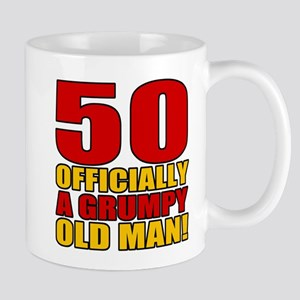 Grumpy 50th Birthday Mug