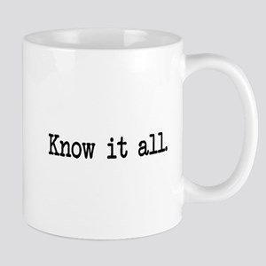 know it all Mug