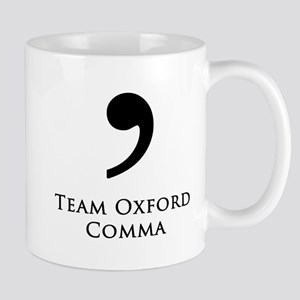 Team Oxford Comma Mugs
