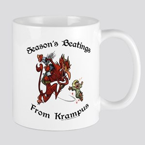 Season's Beatings [Color] Mug