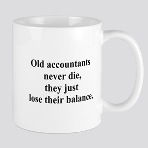 old accountants Mug