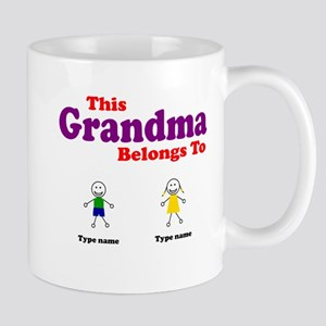 This Grandma Belongs 2 Two Mug