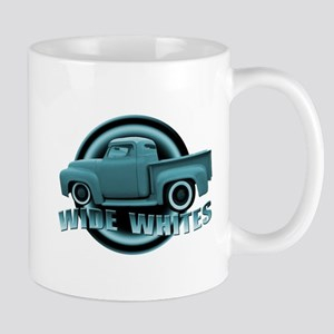 Baby Blue Hot Rod Pickup Mug