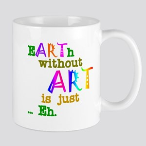Earth Without Art Stainless Steel Travel Mugs