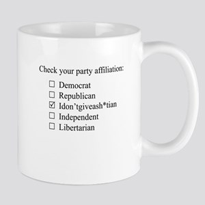 The Idontgiveash*tian party Mug