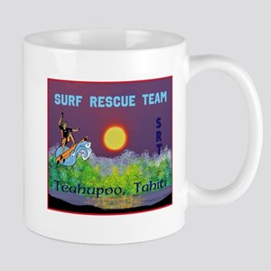 Teahupoo Tahiti Surf Rescue Team Mug