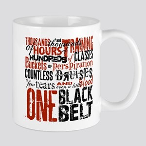 ONE BLACK BELT Mug