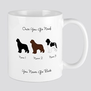 3 Newfs - Black, Brown, Landseer Mug
