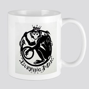 Laughing Monkey Burning Man Logo 2012 Mug