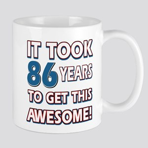 86 Year Old birthday gift ideas Mug