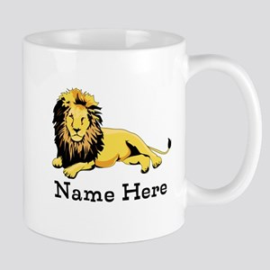 Personalized Lion Mug