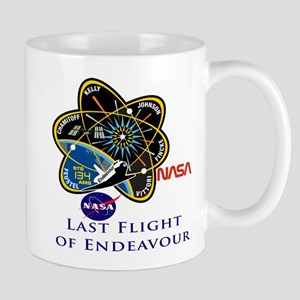 Last Flight Of Endeavour Mug Mugs