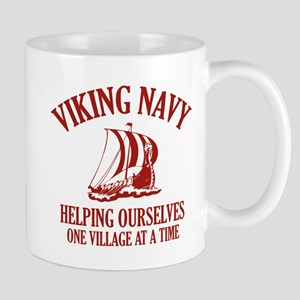 Viking Navy Mug