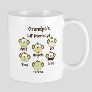 Grand kids monkeys Mug