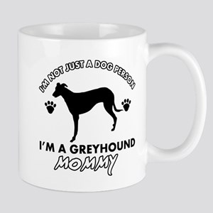 Greyhound dog breed designs Mug