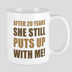 20th Anniversary Humor For Men Mug