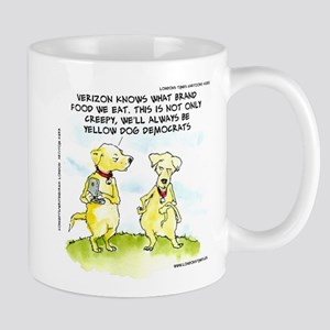 Yellow Dog Democrats The NSA Mug