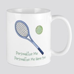 Personalized Tennis Mug