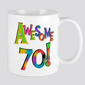 Awesome 70 Birthday Mug