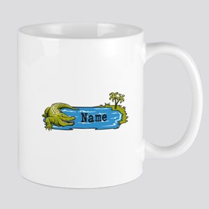 Personalized Alligator Mug